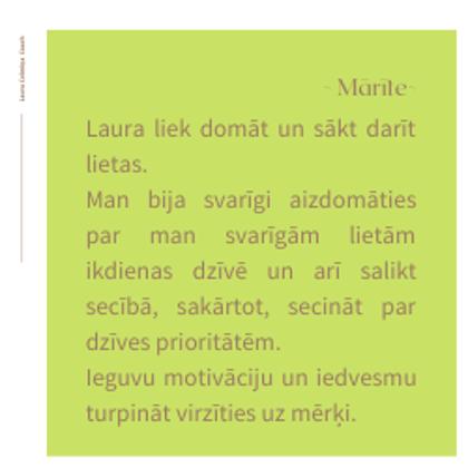 Laura_Celmiņa_Coach-Atsauksme-Mārīte