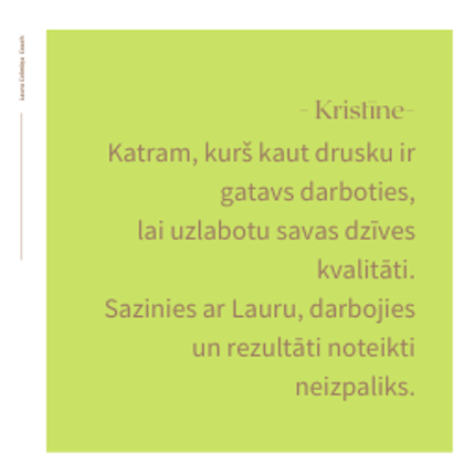 Laura_Celmiņa_Coach-Atsauksme-Kristīne
